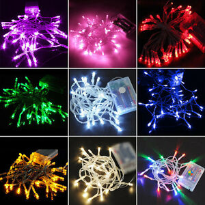 2-3-4-10M-Battery-Power-Operated-Xmas-String-Fairy-Lights-Indoor-Outdoor-Party