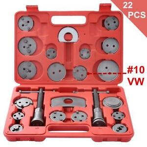Details about 22pc Disc Brake Caliper Piston Pad Car Wind Back Tool Kit