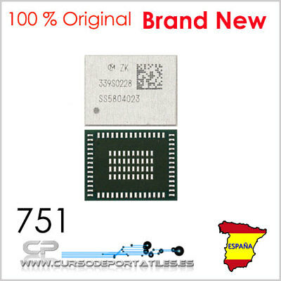 1 Unidad 339s0228 Modulo Wifi Bluetooth Para Iphone 6 / 6 Plus Brand New
