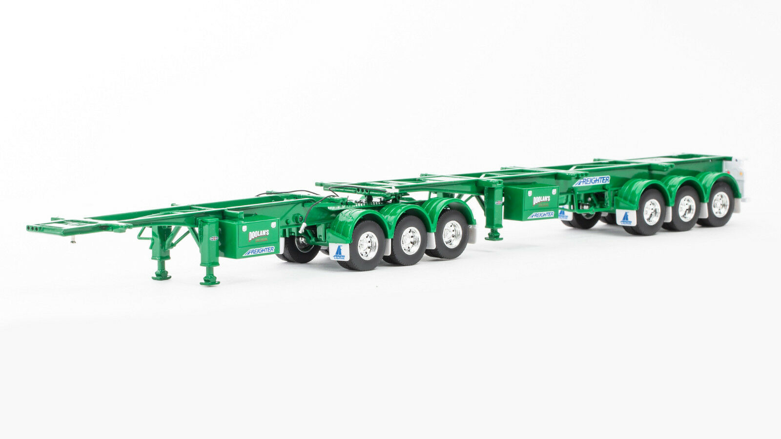 Freighter - Skel B-Double Trailer Set - Doolans 1 50 Scale By Drake  ZT09156