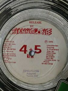 Tamlins-Ting-A-Ling-12-034-Vinyl-Single-1978-CHANNEL-ONE