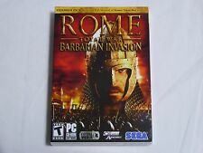 NEW Rome Total War Barbarian Invasion EXPANSION PACK PC Game - US Version Sealed