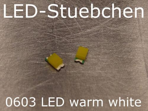 0603 LED warmweiss