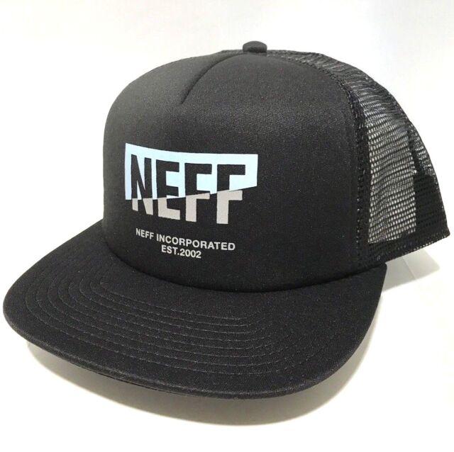 6c2412f50a6f6 Neff Corpo Split Trucker Men s Cap Hat Black One Size Adjustable Z50 ...