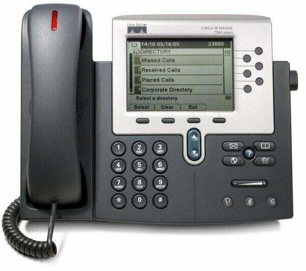 CISCO CP-7961G IP Phone Cisco 7961 - NO DESK STAND