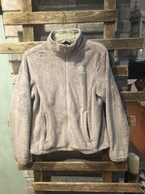 fuzzy north jacket Grey face