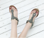 Wedge-Heels-Slingbacks-Thong-Sandals-Womens-Vogue-Roma-Platform-Beach-Boho-Shoes thumbnail 9