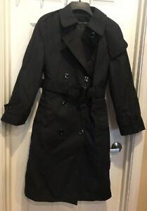 Trenchcoat Arbejder Army Kvinder Jacket 8 Weather S Dark All Black n0FPFIwx