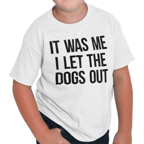 Me Let Dog Out Funny Shirt Cool Baha Men Cute Sarcastic Edgy Youth Tee Shirt T