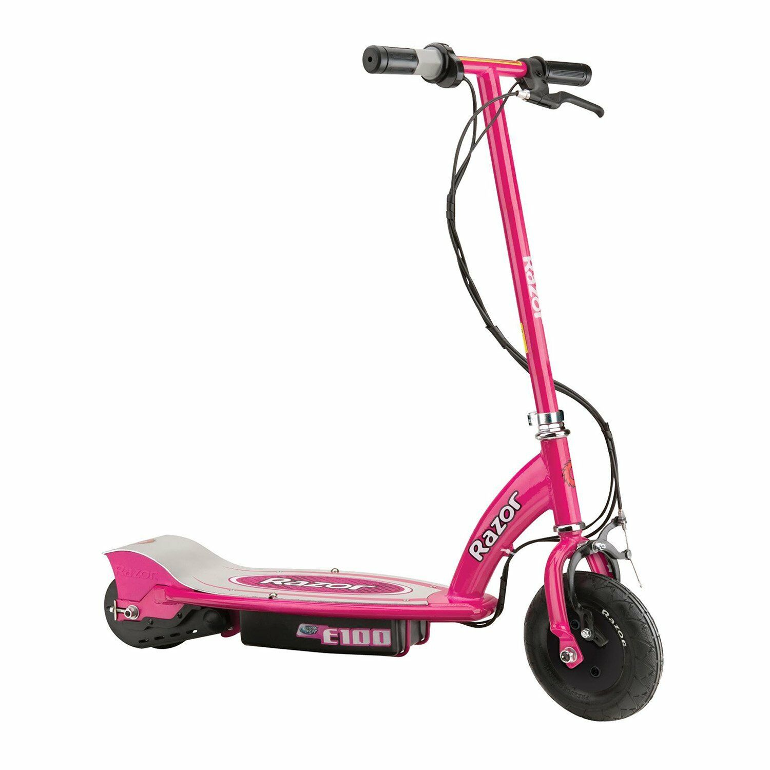 Razor E100 Motorized 24 Volt Electric Powered Ride-On Kids Scooter, Pink
