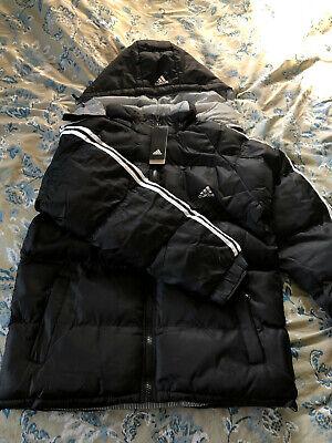 Mens Adidas Winter Reversible Coat With Hood Size L | eBay