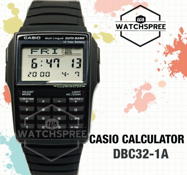 Casio Multi-Lingual Data Bank Watch DBC32-1A AU FAST & FREE*