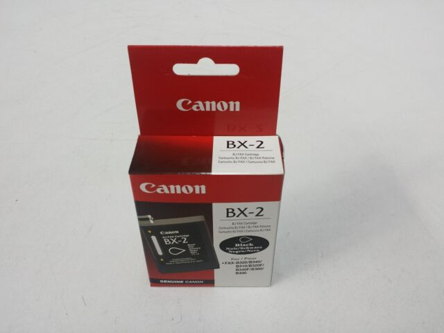 Canon BX-2 Black Ink BJ FAX Cartridge FAX-B320/B340