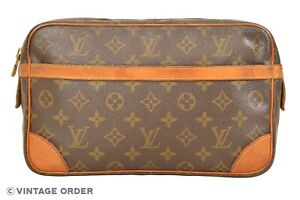 Louis Vuitton Monogram Compiegne 28 Clutch Bag M51845 - YG01205