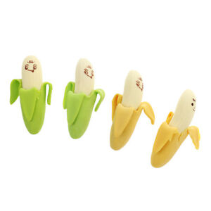 4pcs-Pack-Attractive-Cartoon-Banana-Fruit-Pencil-Rubber-Erasers-for-Kids