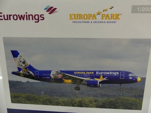 1 1 1 200 Herpa Eurowings Airbus a320 Europe-Park d-ABDQ 558808 164fe8