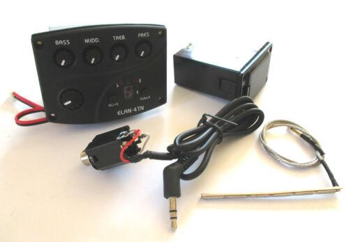 Belcat ELAN 4TN Tonabnehmer für Akustik Gitarren