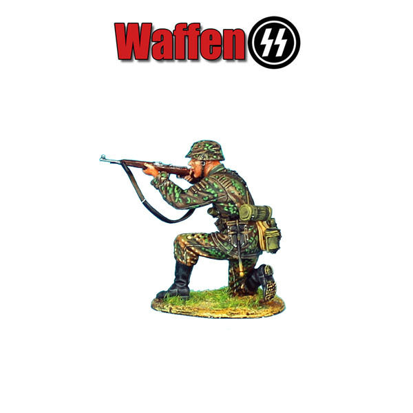 NOR017 Waffen-SS Panzer Grenadier Kneeling Firing by First Legion