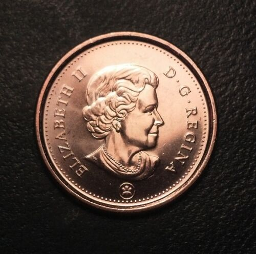 2012 CANADIAN PENNY CENT BU FROM RCM MINT NON MAGNETIC LAST YEAR #BN77