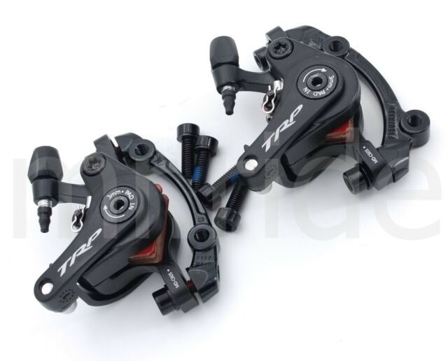 TRP Spyre C Road CX Bike Disc Brake Caliper set Mechanical,W/ adapter F180,R140