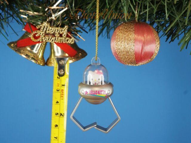 0627e0d578f32 Hello Kitty UFO Gift Silver Decoration Xmas Tree Ornament Home Decor  K1147  D