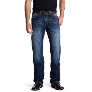 Ariat-Men-039-s-M4-Austin-Riverton-Low-Rise-Boot-Cut-Jeans-10019553