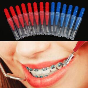 50PC-Testa-del-dente-Filo-Interdentale-Igiene-dentale-in-plastica-Interdentali-Brush-STUZZICADENTI