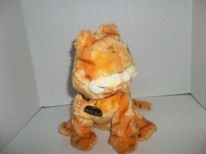 2004-ty-beanie-buddies-orange-garfield-the-kitty-cat-plush-10-034-tall