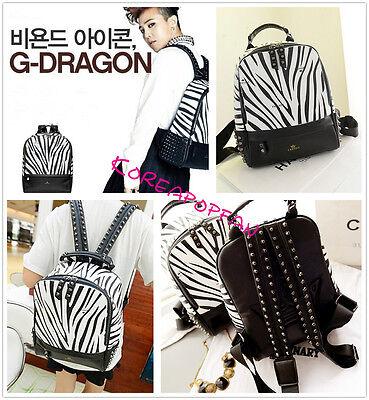 GD Big Bang G-dragon bigbang bag schoolbag Backpack Kpop NEW