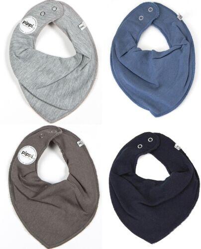 PIPPI Halstücher NEU ❤️ Lätzchen Halstuch 4er Pack ❤️Grau-Blau 123-785-778-155