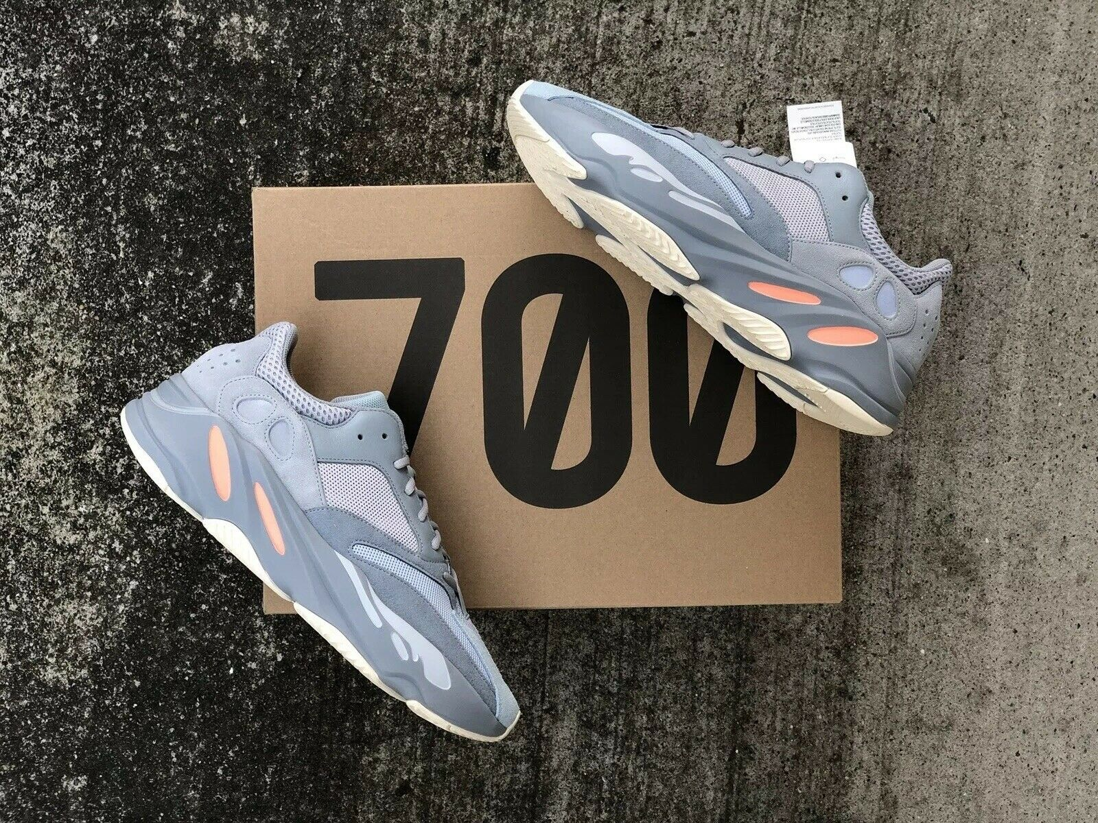 Adidas Yeezy Boost 700 Inertia Sz13 NEW DS