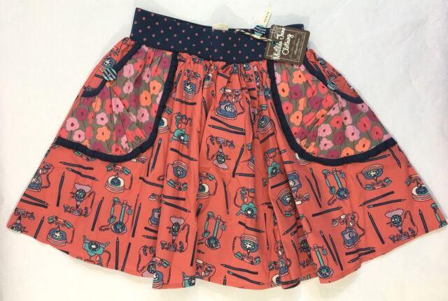 NEW NWT Matilda Jane Hold the Phone Secret Fields Telephone Skirt 14 Telephone