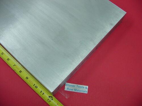 "1//2/"" X 12/"" ALUMINUM 6061 FLAT BAR 12/"" long Solid T6511 .50 Plate Mill Stock"