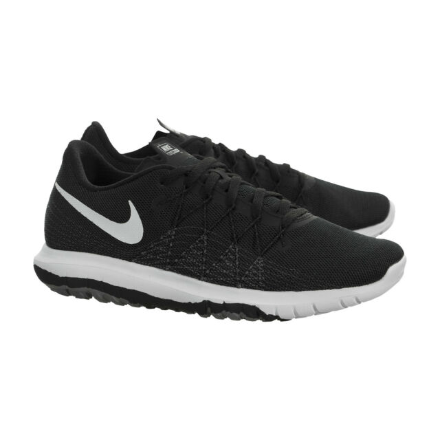 3f78574ecc229 Nike Kids Flex Fury 2 Big Kid Black Dark Grey Anthracite White Boys