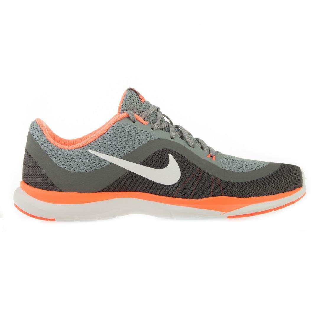 Womens NIKE FLEX TRAINER 6 Stealth Running Trainers 831217 009