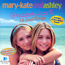 MARY KATE AND ASHLEY OLSEN: GREATEST HITS VOL. 2 ENHANCED CD! VG