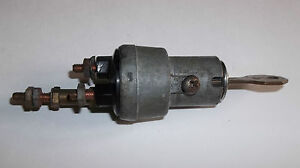 1941 Chrysler Ignition Switch with Key Original OEM G.M. Delco Remy