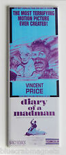 Diary of a Madman FRIDGE MAGNET (1.5 x 4.5 inches) movie poster Vincent Price