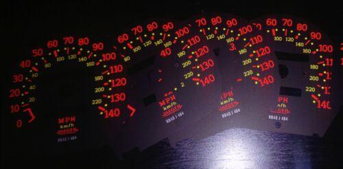 R5 GT Turbo Dial Cubierta Nuevo Velocímetro Mph Renault 5 Gtt