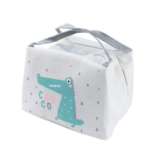 Lovely Animal Imprimé Portable Voyage Picnic Sac de déjeuner à isolation thermique Sac