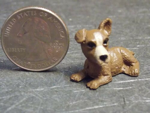 Dollhouse Miniature Dog Puppy Pet 1:12 one inch scale PUP107 Dollys Gallery F75