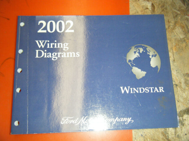 2002 Ford Windstar Original Factory Wiring Diagrams Manual