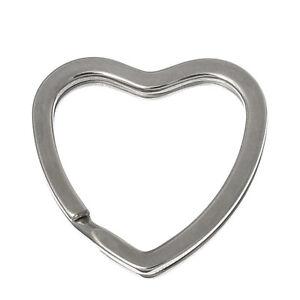 PD-10-Silberf-Valentinstag-Herz-Schlusselring-Ringe