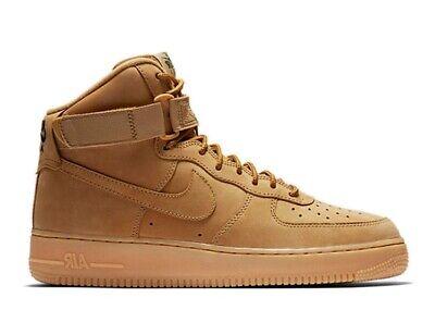 Nike Air Force 1 One High '07 LV8 WB Wheat Flax Outdoor Green | eBay