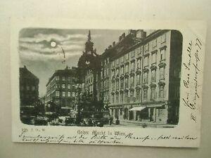 Ansichtskarte-Wien-Hoher-Markt-Vollmondkarte-vor-1900
