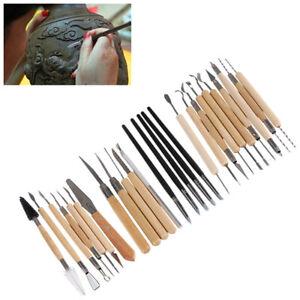 27-Stueck-Tonskulptur-Tonwerkzeugset-Schnitzt-Toepferwerkzeug-Keramik-Silikon-DE