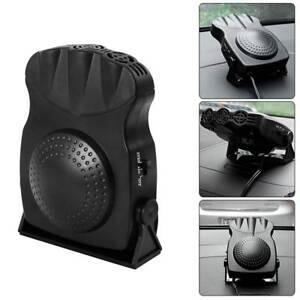 12V Auto Portatile Ceramico Riscaldatore Dryer Ventola Defroster Demister 150W