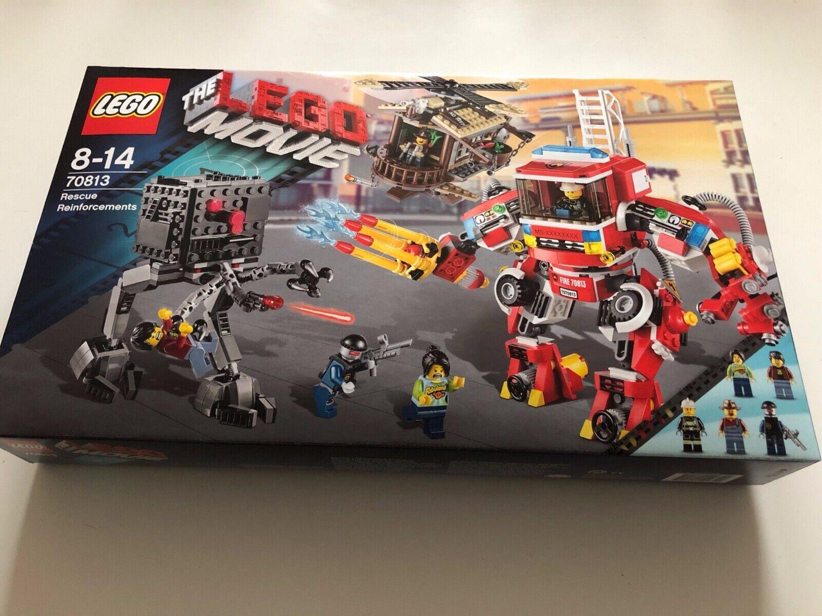 LEGO MOVIE 70813   LES RENFORTS  RESCUE REINFORCEMENTS  BOITE NEUVE SCELLEE