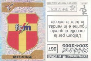 CALCIATORI-PANINI-2004-05-Figurina-sticker-N-267-NEW