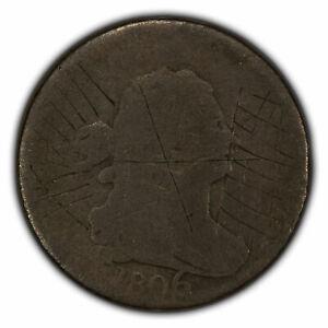 1806 1/2c Draped Bust Half Cent SKU-Y2249
